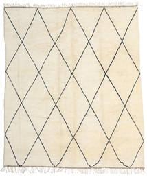 Berber Moroccan - Beni Ourain Matto 318X374 Moderni Käsinsolmittu Beige Isot (Villa, Marokko)