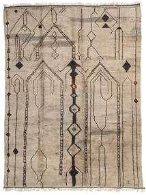 Berber Moroccan - Mid Atlas Matto 308X420 Moderni Käsinsolmittu Vaaleanharmaa Isot (Villa, Marokko)