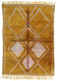 Berber Moroccan - Mid Atlas Matto 190X265 Moderni Käsinsolmittu Vaaleanruskea/Ruskea (Villa, Marokko)