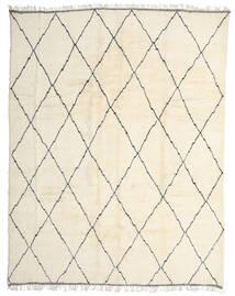 Berber Moroccan - Beni Ourain Matto 334X425 Moderni Käsinsolmittu Beige Isot (Villa, Marokko)