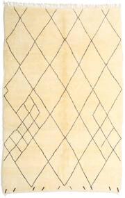 Berber Moroccan - Beni Ourain Matto 210X317 Moderni Käsinsolmittu Beige/Keltainen (Villa, Marokko)