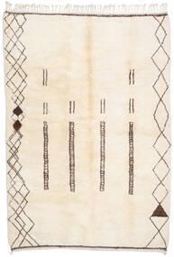 Berber Moroccan - Beni Ourain Matto 211X295 Moderni Käsinsolmittu Beige (Villa, Marokko)