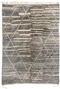 Berber Moroccan - Mid Atlas Matto 200X283 Moderni Käsinsolmittu Vaaleanharmaa/Tummanharmaa (Villa, Marokko)