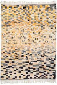 Berber Moroccan - Mid Atlas Matto 255X341 Moderni Käsinsolmittu Beige/Tummanbeige Isot (Villa, Marokko)