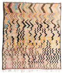 Berber Moroccan - Mid Atlas Matto 256X287 Moderni Käsinsolmittu Beige/Tummanruskea Isot (Villa, Marokko)