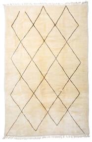 Berber Moroccan - Beni Ourain Matto 222X340 Moderni Käsinsolmittu Beige (Villa, Marokko)