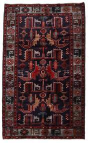 Hamadan Matto 131X213 Itämainen Käsinsolmittu Tummanpunainen (Villa, Persia/Iran)