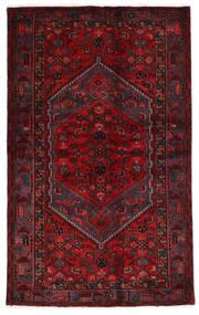 Hamadan Matto 134X215 Itämainen Käsinsolmittu Tummanpunainen/Punainen (Villa, Persia/Iran)