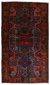 Hamadan Matto 111X197 Itämainen Käsinsolmittu Tummanpunainen (Villa, Persia/Iran)