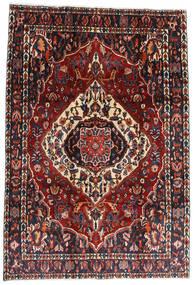 Bakhtiar Matto 207X300 Itämainen Käsinsolmittu Tummanpunainen/Musta (Villa, Persia/Iran)