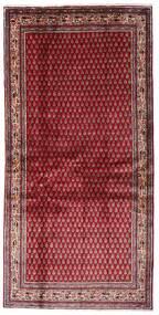 Sarough Mir Matto 107X215 Itämainen Käsinsolmittu Tummanpunainen/Punainen (Villa, Persia/Iran)