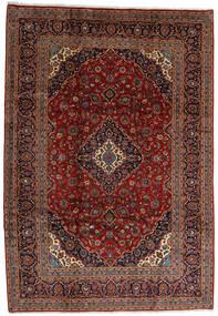 Keshan Matto 245X354 Itämainen Käsinsolmittu Tummanruskea/Tummanpunainen (Villa, Persia/Iran)