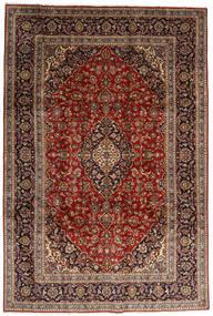 Keshan Matto 246X357 Itämainen Käsinsolmittu Tummanruskea/Tummanpunainen (Villa, Persia/Iran)