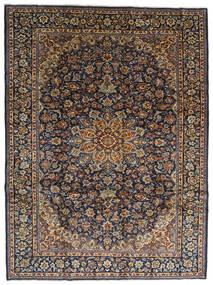 Najafabad Matto 275X367 Itämainen Käsinsolmittu Tummanharmaa/Musta Isot (Villa, Persia/Iran)