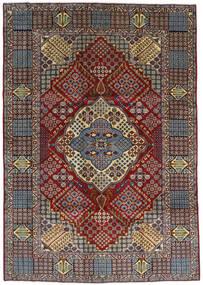 Keshan Matto 263X372 Itämainen Käsinsolmittu Tummanruskea/Vaaleanruskea Isot (Villa, Persia/Iran)