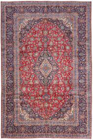 Keshan Matto 246X365 Itämainen Käsinsolmittu Tummanvioletti/Ruoste (Villa, Persia/Iran)