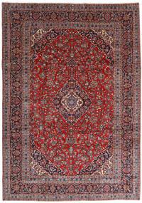 Keshan Matto 251X360 Itämainen Käsinsolmittu Tummanpunainen/Tummanvioletti Isot (Villa, Persia/Iran)
