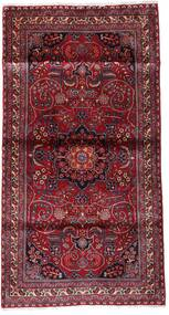 Kashmar Matto 107X200 Itämainen Käsinsolmittu Tummanpunainen/Vaaleanvioletti (Villa, Persia/Iran)