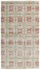 Vintage Heritage Matto 110X193 Moderni Käsinsolmittu Vaaleanharmaa/Tummanbeige (Villa, Persia/Iran)