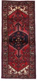 Hamadan Matto 95X219 Itämainen Käsinsolmittu Käytävämatto Tummanpunainen (Villa, Persia/Iran)