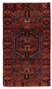 Hamadan Matto 106X199 Itämainen Käsinsolmittu Tummanpunainen (Villa, Persia/Iran)