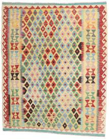 Kelim Afghan Old Style Matto 155X190 Itämainen Käsinkudottu Tummanbeige/Vaaleanharmaa (Villa, Afganistan)