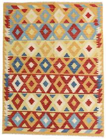 Kelim Afghan Old Style Matto 148X192 Itämainen Käsinkudottu Tummanbeige/Beige (Villa, Afganistan)