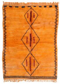 Berber Moroccan - Mid Atlas Matto 190X265 Moderni Käsinsolmittu Oranssi (Villa, Marokko)