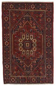 Gholtogh Matto 78X124 Itämainen Käsinsolmittu Tummanruskea/Tummanpunainen (Villa, Persia/Iran)