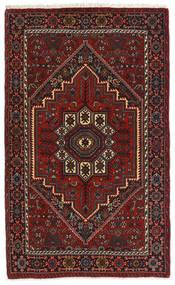 Gholtogh Matto 79X127 Itämainen Käsinsolmittu Tummanpunainen/Tummanruskea (Villa, Persia/Iran)