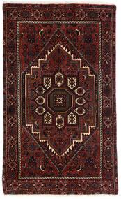 Gholtogh Matto 80X131 Itämainen Käsinsolmittu Tummanruskea/Tummanpunainen (Villa, Persia/Iran)