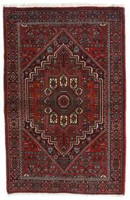 Gholtogh Matto 81X124 Itämainen Käsinsolmittu Tummanpunainen/Tummanruskea (Villa, Persia/Iran)