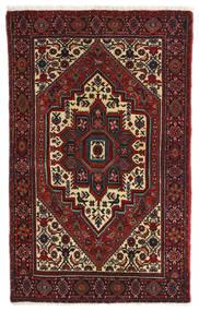 Gholtogh Matto 80X127 Itämainen Käsinsolmittu Tummanpunainen/Tummanruskea (Villa, Persia/Iran)