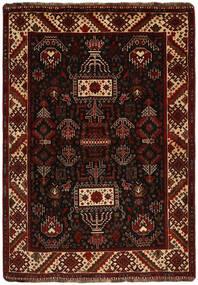 Ghashghai Matto 118X167 Itämainen Käsinsolmittu Tummanruskea (Villa, Persia/Iran)
