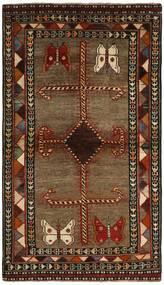 Ghashghai Matto 117X200 Itämainen Käsinsolmittu Tummanruskea/Ruskea (Villa, Persia/Iran)