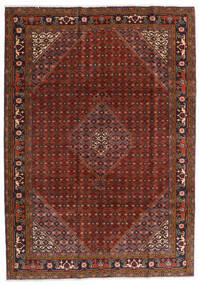 Ardebil Matto 202X285 Itämainen Käsinsolmittu Tummanpunainen/Tummanruskea (Villa, Persia/Iran)