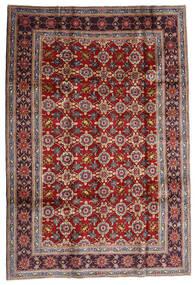 Keshan Matto 192X283 Itämainen Käsinsolmittu Tummanpunainen/Tummanruskea (Villa, Persia/Iran)