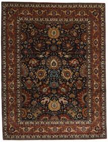 Farahan Matto 242X313 Itämainen Käsinsolmittu Tummanruskea/Tummanpunainen (Villa, Pakistan)