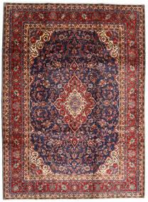 Hamadan Shahrbaf Matto 220X298 Itämainen Käsinsolmittu Tummanpunainen/Tummanvioletti (Villa, Persia/Iran)