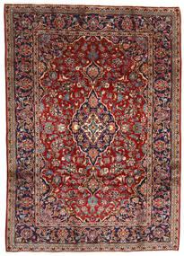 Keshan Matto 196X275 Itämainen Käsinsolmittu Tummanpunainen/Tummanruskea (Villa, Persia/Iran)