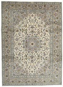 Keshan Matto 259X358 Itämainen Käsinsolmittu Vaaleanharmaa/Tummanharmaa Isot (Villa, Persia/Iran)
