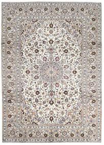 Keshan Matto 252X345 Itämainen Käsinsolmittu Vaaleanharmaa/Beige Isot (Villa, Persia/Iran)
