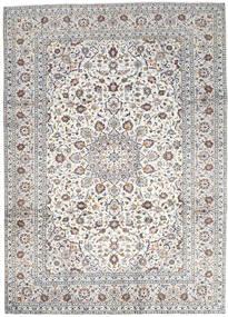 Keshan Matto 250X346 Itämainen Käsinsolmittu Vaaleanharmaa/Beige Isot (Villa, Persia/Iran)