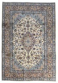 Keshan Matto 250X356 Itämainen Käsinsolmittu Vaaleanharmaa/Tummanharmaa Isot (Villa, Persia/Iran)