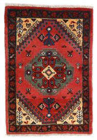 Ghashghai Matto 62X90 Itämainen Käsinsolmittu Musta/Ruoste (Villa, Persia/Iran)