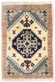 Ghashghai Matto 57X82 Itämainen Käsinsolmittu Beige/Tummanharmaa (Villa, Persia/Iran)