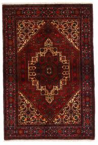 Gholtogh Matto 103X153 Itämainen Käsinsolmittu Tummanruskea/Tummanpunainen (Villa, Persia/Iran)