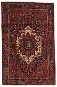 Gholtogh Matto 107X164 Itämainen Käsinsolmittu Tummanpunainen/Tummanruskea (Villa, Persia/Iran)