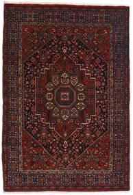 Gholtogh Matto 103X152 Itämainen Käsinsolmittu Tummanruskea/Tummanpunainen (Villa, Persia/Iran)