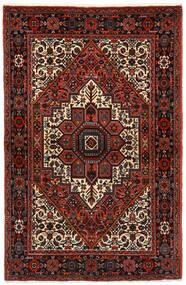 Gholtogh Matto 104X159 Itämainen Käsinsolmittu Tummanpunainen/Tummanharmaa (Villa, Persia/Iran)
